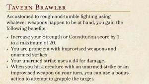 5E Tavern Brawler