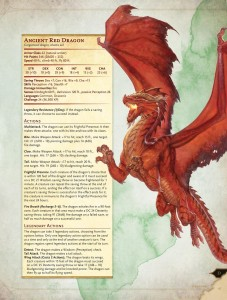5E: Red Dragon