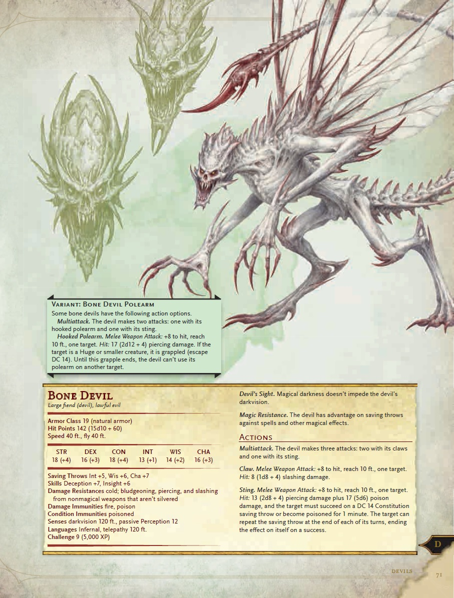 d&d 5e monster sheet pdf